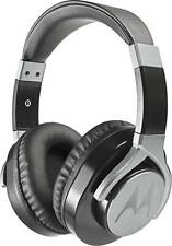 Motorola Pulse Max on ear Wired Headset Headphone with MIC +VAT Bill -Black