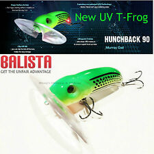 Balista Led technology hunchback 90 mm surface cod, Barra Lure ;t-frog NEW UV