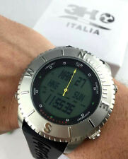 Watch 3H Ocean Diver Qibla Watch Compass Chrono Digi Zone Time Timer Lighting