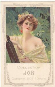 4A% ILLUSTRATEUR ART NOUVEAU MUCHA COLLECTION JOB GERVAIS 1905 PUBLICITE