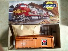 Athearn HO Scale #1618 40' Reefer Steel Morrell Refrigerator MORX 9898 MINT