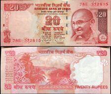INDIA 20 RUPEES 2013 P 103 NEW SIGN SYMBOL UNC