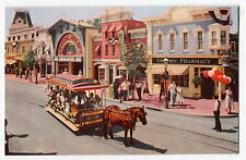 Early Disneyland Postcard: Upjohn Pharmacy on Main Street