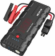 Car Battery Starter, 1500A Peak 21800mAh 12V Portable Auto Car Battery Charger