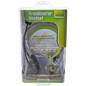Gaming, dreamgear, Xbox 360 Broadcaster Headset - Camo