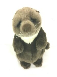 Dakin Lou Rankin Oliver Otter Plush Lil Friends Stuffed Animal 14 inches