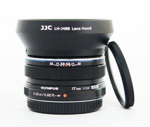 # Olympus M.Zuiko Digital 17mm F/1.8 Wide Angle Lens - Black S/N 04778