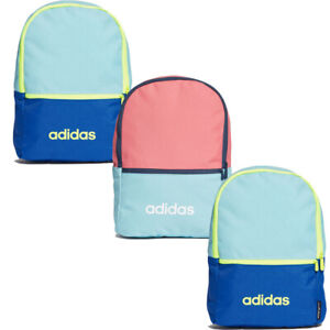 Adidas Kids Boys School Backpack Bag Daily Jr Backpacks Back Strap Small Zip