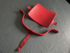 Stokke Tripp Trapp Babyset Rot, Holzbügel mit Lederriemen und Rückenlehne