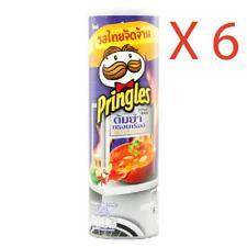 New Limited Original Thai TOM YAM SONG KREUNG Pringles Crisps Chips Halal 6-Pack