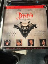 DRACULA MOVIE LASERDISC DELUXE WIDESCREEN VERSION 1992