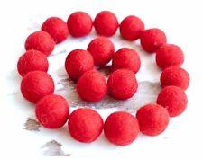2.5cm RED Felt Balls x20.Wool.Party Decor.Pom poms.Felt Ball.Wholesale.