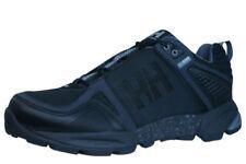 Zapatillas de deporte negros de malla con cordones