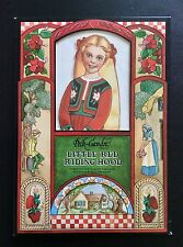 Peck-Gandre Little Red Riding Hood Paper Dolls, Enchanted Series, Uncut, 1988