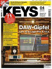Live 10 & Logic Pro X 10.4 / Magix Independence auf DVD + Free Samples in Keys