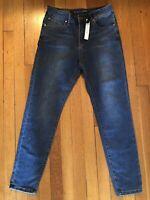 TAHARI Classic Skinny Dark Wash Jeans Women's Sz 8 NWT MSRP $98