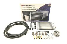 "NEW Hayden Engine Oil Cooler Kit 457 Universal Ford Dodge 12.25"" x 10.0"" x 0.75"""