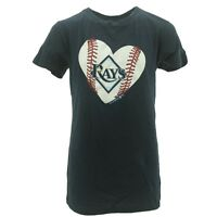 Tampa Bay Rays official MLB Kids Youth Size Girls T-shirt New With Tags