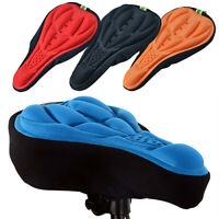 3D Silicone Gel Saddle Cushion Bike Mountain Bicycle Road Bike Seat Cover Sight