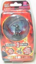 3off Dr WHO MICRO UNIVERSE FIGURES  - new
