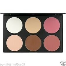 Palette Trucco Viso Fard Highliter Illuminante Cipria Compatta Make up set 6 SEI