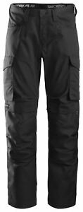 Snickers Service Line Work Trousers with Kneepad Pockets -6801