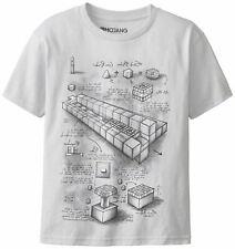 TNT BLUEPRINT Adult Minecraft Premium Tee ADULT Gaming Gamers Shirt XX-LARGE