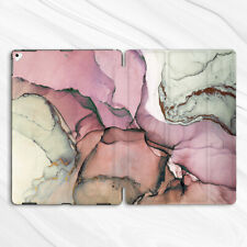 Girly Pink Gray Marble Case For iPad Pro 9.7 10.2 10.5 11 12.9 Air Mini 2 3 4 5