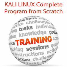 KALI LINUX Complete from Scratch - Video Training Tutorial DVD