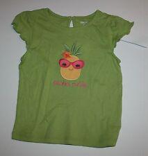 Nuovo Gymboree Aloha Cutie Ananas Maglia T-Shirt 4T con Etichetta Sunshine Linea