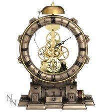 Steampunk Time Machine Open Mantel Clock by Nemesis Now