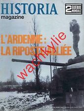 Historia magazine ww2 n°85 Bataille Ardenne Berlin Strasbourg