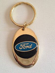 Ford Keychain Solid Brass key chain Personalized Free