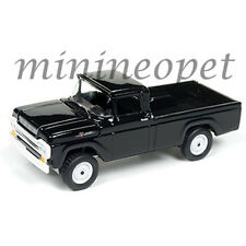 JOHNNY LIGHTNING JLCP7005 1959 FORD F-250 PICK UP TRUCK 1/64 DIECAST BLACK