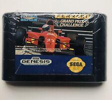 Ferrari Grand Prix Challenge (1992 SEGA Genesis Formula One Racing Video Game)