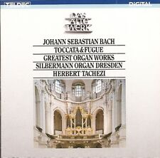 J.S. Bach - Greatest Organ Works / Herbert Tachezi (Silbermann Organ Dresden)