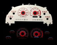 Red Reverse Instrument Cluster Panel Glow Gauge Face For 99-04 Ford Mustang Gt