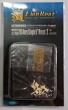 """Lionroar PE 1/700 WWII US NAVY SINGLE 5"""" MOUNT I LE700085"""