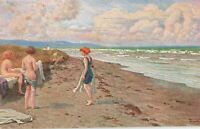 Postcard Women on the Beach
