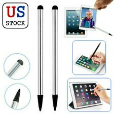 2Pcs Capacitive Touch Screen Pen Stylus Universal For iPhone Samsung Tablet PC