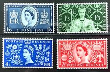 1953 Great Britain Stamps SC#313-316 Complete Set
