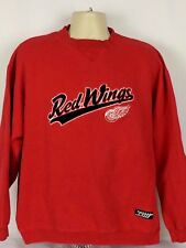Detroit Red Wings G-III NHL Sweatshirt Cotton Blend Mens Large