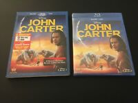 John Carter (Two-Disc Blu-ray / DVD) Disney, Taylor Kitsch, with slipcover