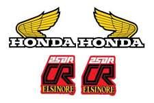 1979 Honda CR 250 Elsinore Gas Tank And Side Panel Decal Set VINTAGE MOTOCROSS