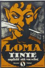 Original Plakat - LOMA TINTE - Schweizer Fabrikat