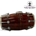 Buy Wooden Musical Dholak Instrument Drum Nuts & Bolt With Kit Carry Bag