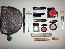 Mac Wholesale Lot 10 Pc - Eye Shadow Lipstick Lip Pencil Colour Lash Brush Bag