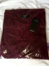 Men's BNWT Plain mottled Red Tshirt, Size M, From New Look