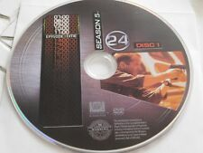 24 Fifth Season 5 Disc 1 DVD Disc Only 48-179
