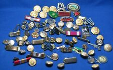 Vietnam War to Post War Army Insignia, Buttons, Ribbons Group Lot Of 72